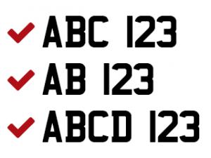 registration- plate font ok