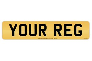 Customise Number Plates : Make My Own Legal Numberplate