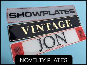 novelty plates