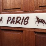 Paris Novelty Plate