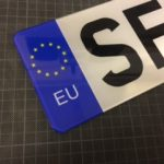 Replacement Front Plate For France