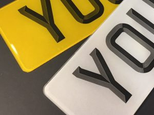 3d Number Plates