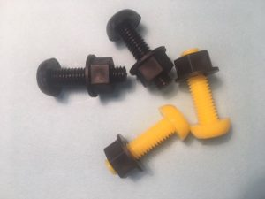 Motorbike Plastic Nut Bolt Set