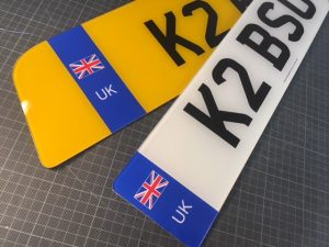 Shaped Number Plates