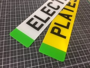 Electric Vehicle EV Green Number Plates